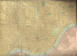 Map Of Cincinnati Maps