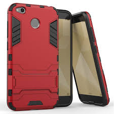 Xiaomi Redmi 4X Iron Man Drop Resistance Silicone Protective Case