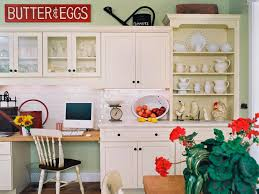 Ideas For Decorating Above Kitchen Cabinets HGTV - Kitchen decor above cabinets