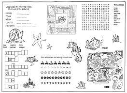 coloring placemats children s menus kid s activity placemats for restaurants