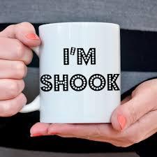 Coffee Cup Meme - coffee mug i m shook coffee cup funny internet meme