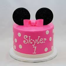 minnie mouse birthday cake gallery cakes cake in cup ny