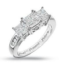 zales wedding ring sets 2 ctw princess cut bridal set in 14k white gold