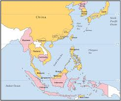 East Asia Political Map Marine Drugs Free Full Text Ciguatera Fish Poisoning In East