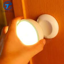 night light sound led night light sound control bedroom aisle corridor wall l light