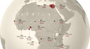 Map Of Sub Saharan Africa What Africa Will Look Like In 100 Years