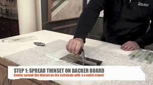 mosaic tile diy video install mosaic backsplash tile with mesh