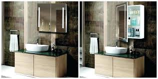 Heated Bathroom Mirror With Light Bathroom Lights And Mirrors Bathroom Cabinet With Lights And
