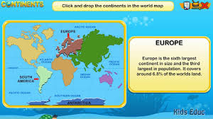 Seven Continents Map 7 Continents Geography For Kids The Formation Of Continents