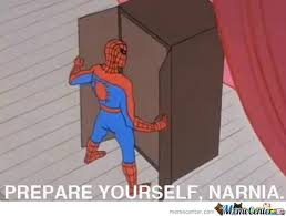 Spider Man Meme - spiderman going to narnia by darkknight1 meme center
