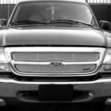 front grill ford ranger 1999 ford ranger custom grilles billet mesh led chrome black