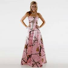 pink camo wedding gowns pink camo flower dresses image collections flower