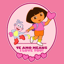 dora valentine u0027s day card nickelodeon parents