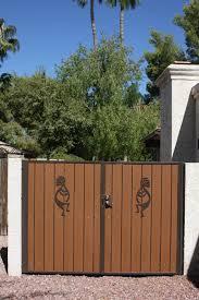 gates w composite wood u2013 martins fencing u2013 fabricating and