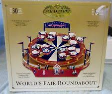 mr gold label world s fair swings carousel plays 30