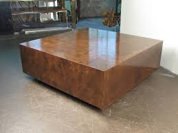 Cube Coffee Tables Brown Antique Faux Marble Cube Coffee Table Designs For Living