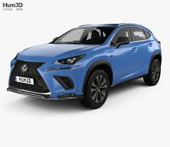 lexus nx f sport interior lexus nx f sport with hq interior 2017 3d model hum3d