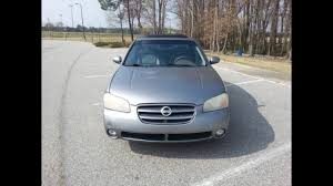 nissan maxima for sale in nc car for sale 03 nissan maxima se runs great 2495 youtube