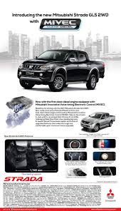 mitsubishi adventure engine mitsubishi philippines introduces mivec diesel equipped strada gls