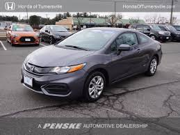 2014 used honda civic coupe 2dr cvt lx at honda of turnersville