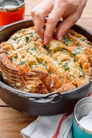 pull apart garlic bread fresh off the grid