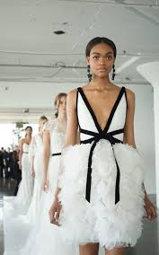 Black And White Wedding Dress Getting Married In 2018 Here Are The New Wedding Dress Trends To