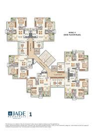 purpose of floor plan luxurious 1 1 5 2 2 5 bedroom apartments in pune jade pune