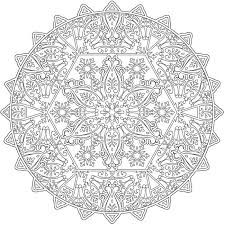 Color Pages For 109 Best Mandalas Coloring Pages For Adults Images On Pinterest by Color Pages For