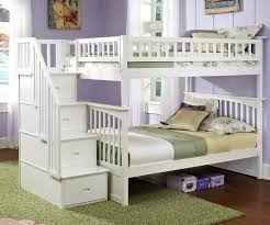 Space Bunk Beds White Size Bunk Beds Efficiently In Small Space Modern