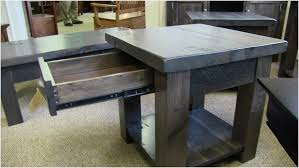 rustic pine end table rustic pine coffee tables rustic elm coffee and end tables from