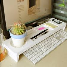 Desk Organizer White Sokano Keyboard And Desk Organizer White Home Living