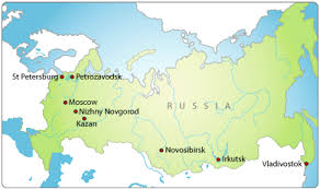 european russia map cities information about russia ambergh education