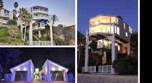 Beach House In Laguna Beach - skin doctor arnold klein lists laguna beach house on stilts u2013 variety