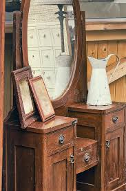 antique dressing table with mirror old retro objects antique dressing table with mirror framed
