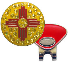 New Mexican Flag New Crystal Ball Markers New Mexico Flag