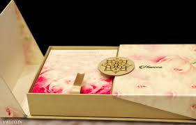wedding invitations box voguish wedding invitations floral pearl finish