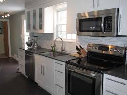 What Color Kitchen Cabinets Go With White Appliances Open Virtual Chrome Single Handle Faucet White Wall Paint