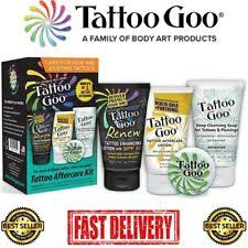 tattoo goo aftercare lotion review reviews 4 in 1 tattoo goo aftercare kit healing protection ebay