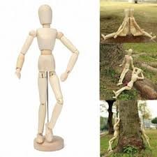 wooden artist mannequin 30cm 12 wooden manikin movable limbs human mannequin model for