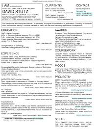 Two Column Resume Rethinking My Curriculum Vitae Experimenting With