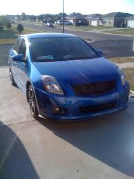 blue nissan sentra bcamos blue 07 spec v ft hood tx update june 2012