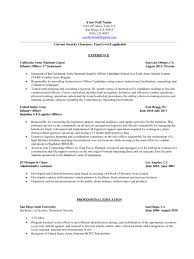 nanny resume objective job and resume template