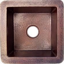 Copper Kitchen Sink by Undermount Hammered Copper Kitchen Sink