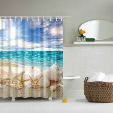 Shower Curtain Prices Beach Shower Curtain Cheap Casual Style Online Free Shipping At