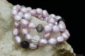pink pearls bracelet images Pink freshwater pearl bracelet handcrafted in canada www elysee ca jpg