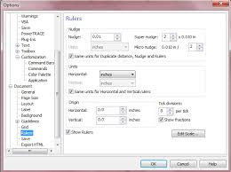 corel draw x6 rutor how to change ruler units or measurements in coreldraw x6
