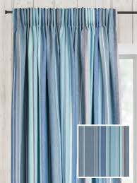 Pencil Pleat Curtains Ready Made Pencil Pleat Curtains In Azure Curtain Company