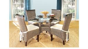 dining room table chair sets for sale abaco rattan 5 pc round dining room
