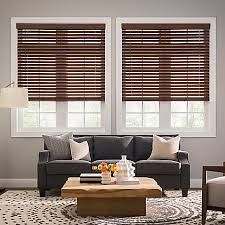 Discount Faux Wood Blinds Real Simple Cordless Faux Wood Blinds Bed Bath U0026 Beyond