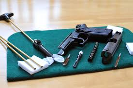 best gun cleaning table g a basics how to clean your handgun guns ammo